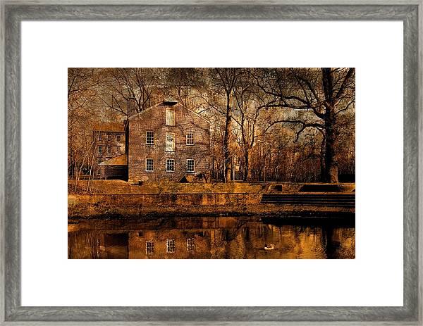 Old Village - Allaire State Park Framed Print