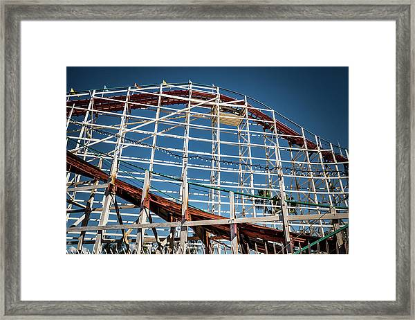 Old Woody Coaster Framed Print
