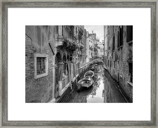 Old World Framed Print
