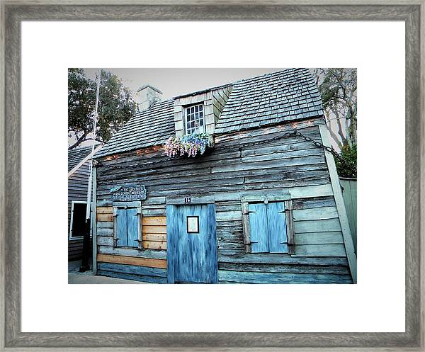 Oldest Wood School House Usa Framed Print