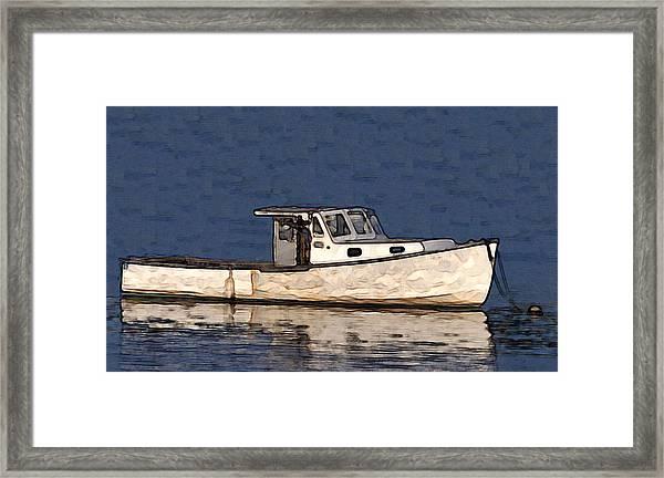 Ole Boy Painting Framed Print