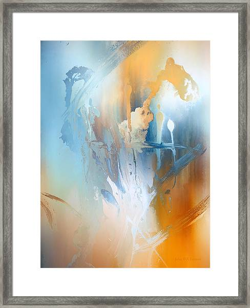 The Magician Framed Print