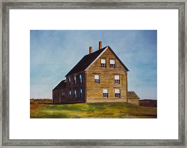 Olsen House Framed Print