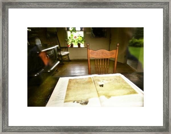 Olson Kitchen Chair Framed Print