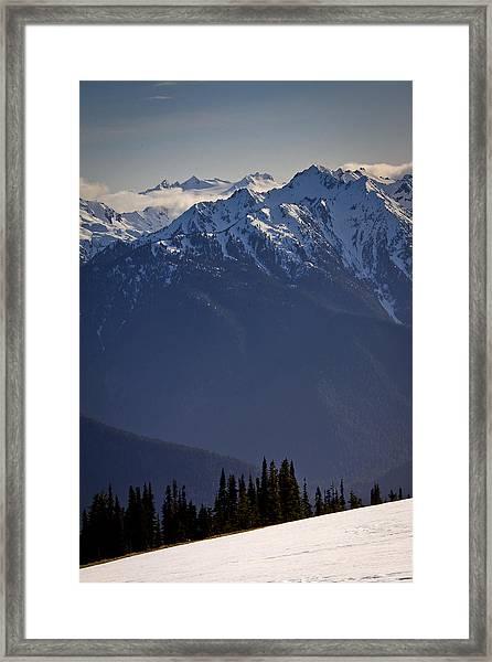 Olympic National Park Framed Print