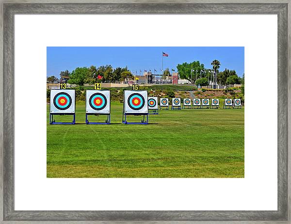 Olympic Training Center  Framed Print by See My Photos