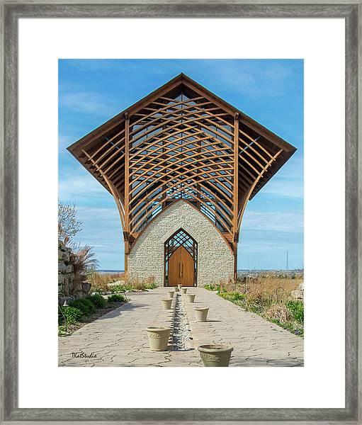 Omaha Holy Family Shrine Framed Print