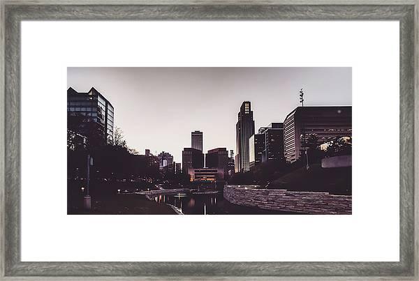 Omaha Framed Print