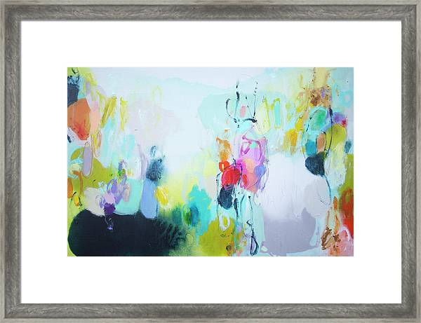 On A Road Less Travelled Framed Print