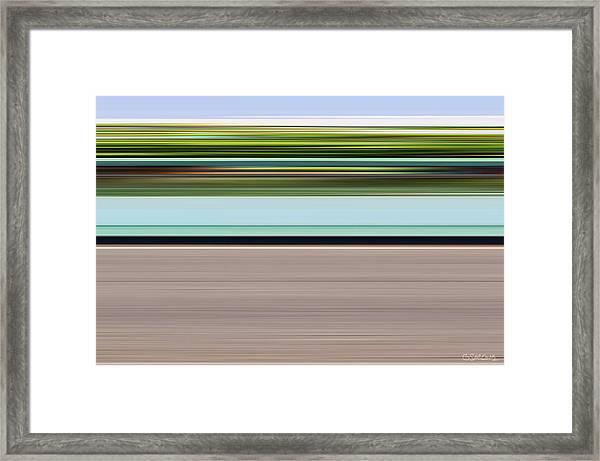 On Road Framed Print