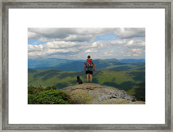 On South Twin Framed Print