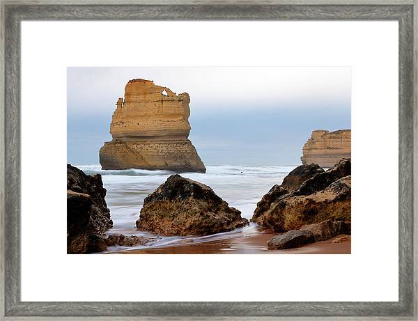 On Southern Shores Framed Print