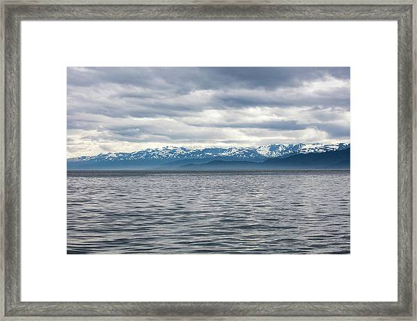 On The Bay Framed Print
