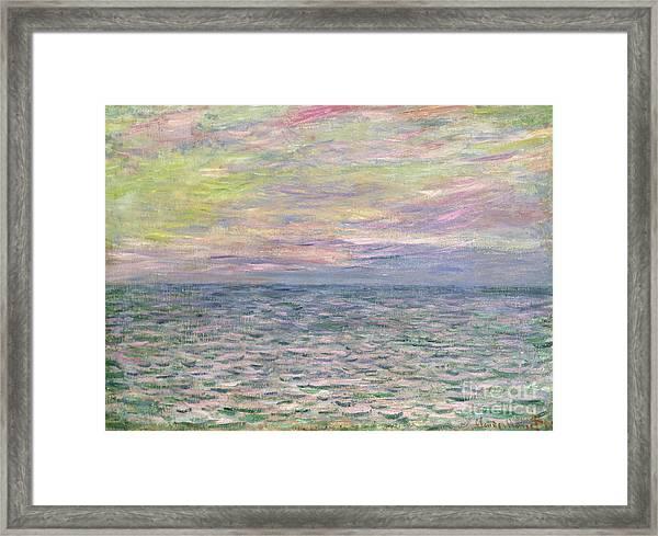 On The High Seas Framed Print