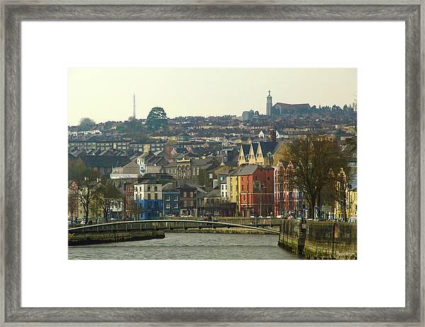 On The River Lee, Cork Ireland Framed Print