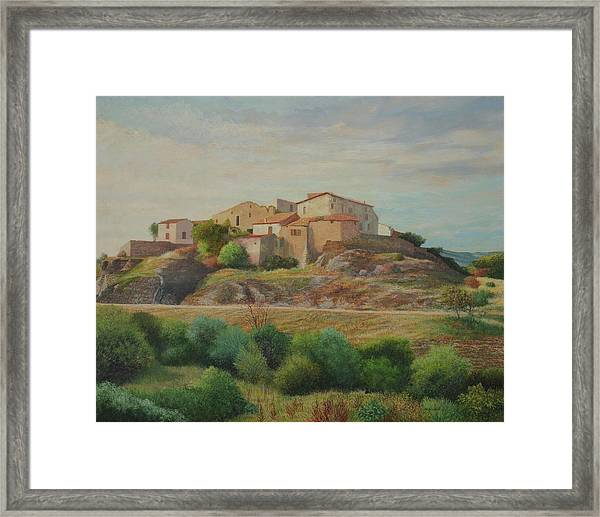 On The Road To Manosque I Framed Print