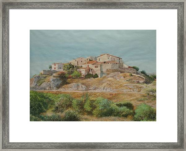 On The Road To Manosque II Framed Print