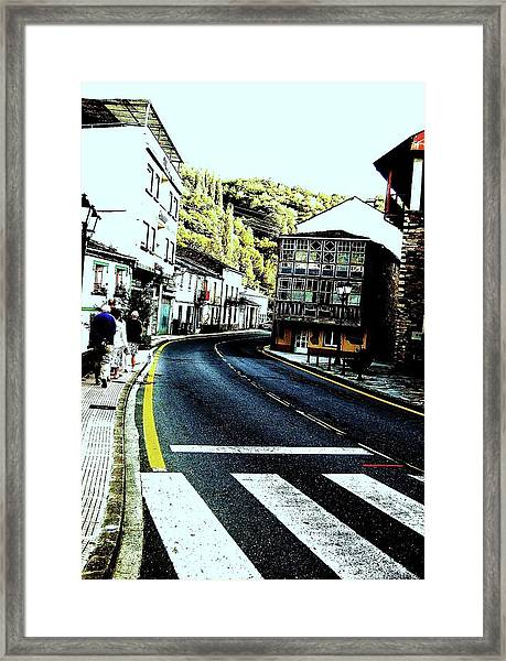 Framed Print featuring the photograph On The Road by HweeYen Ong