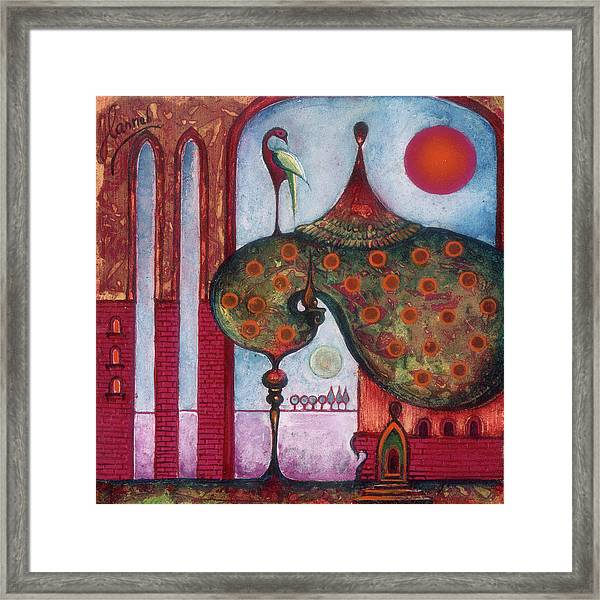 On The Rooftop Of The World Framed Print