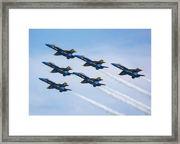 On Wings Like Eagles Framed Print