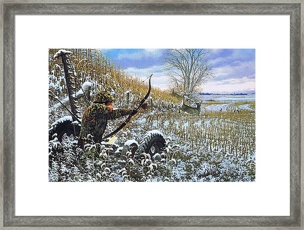 One Chance Only Michael Sieve Framed Print