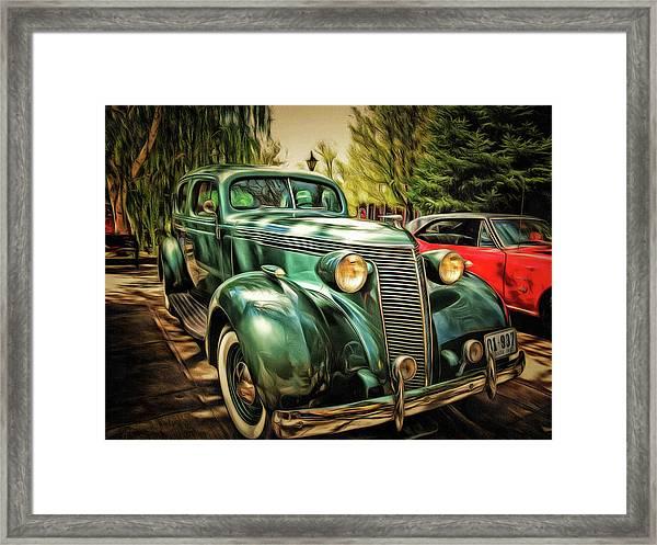 One Cool 1937 Studebaker Sedan Framed Print