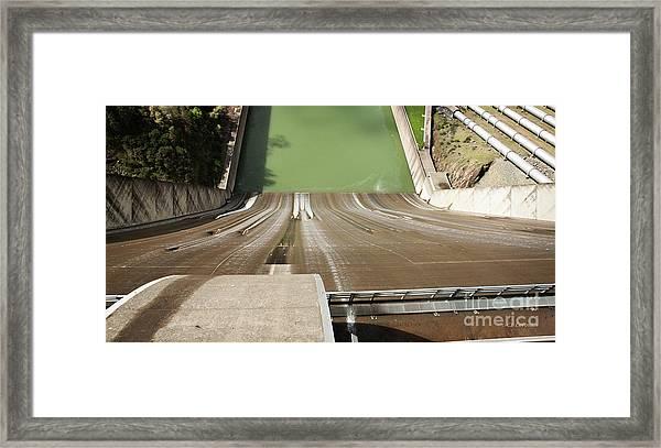 One Heckuva Waterslide Framed Print