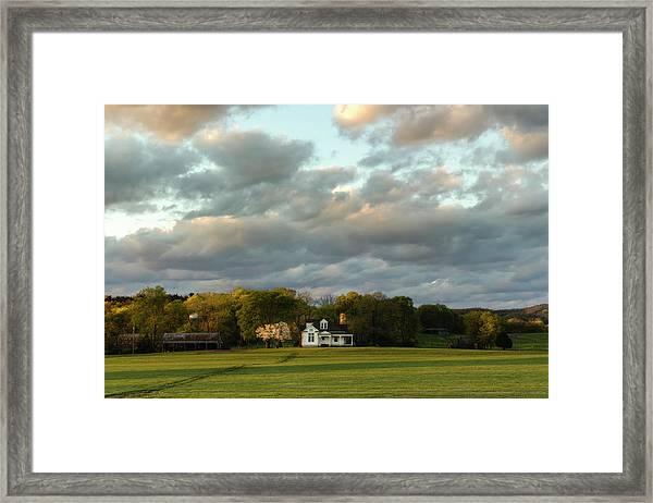 One Hundred Yards To Home Framed Print
