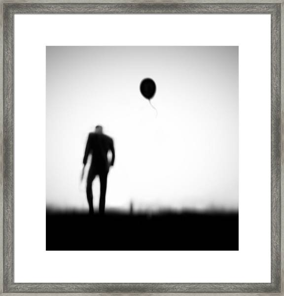 One Last Chance Framed Print