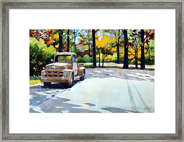 One Last Ride Framed Print