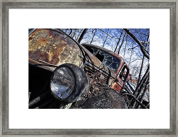 One Last Run Framed Print