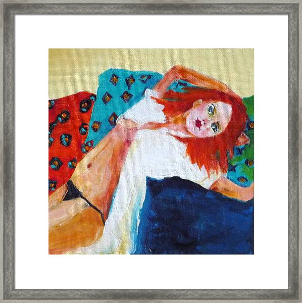 One Lazy Afternoon Framed Print by Irit Bourla