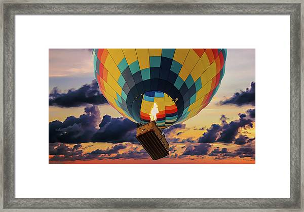One Morning In Napa Valley Framed Print