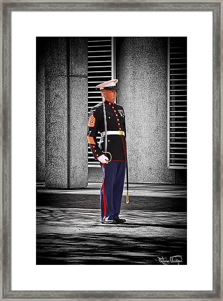 One Nation Under God... Framed Print