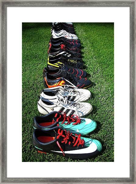 One Team ... Framed Print