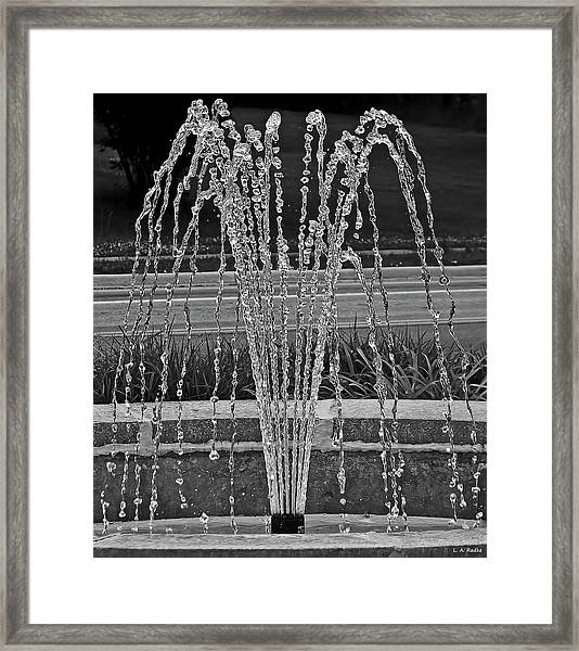 One Thousandth Of A Second Framed Print