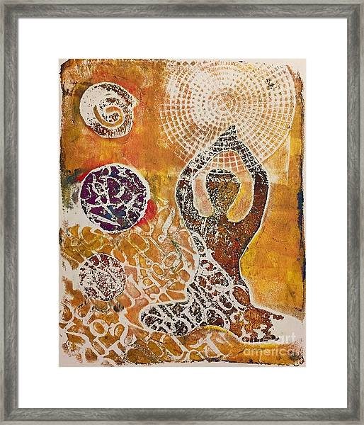 Only Peace Framed Print
