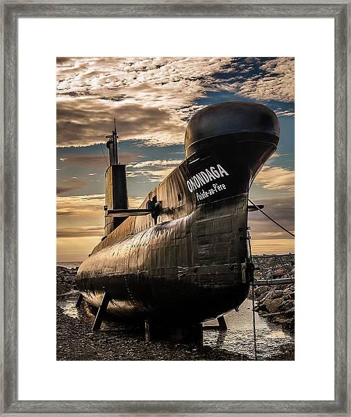 Onondaga Submarine Framed Print