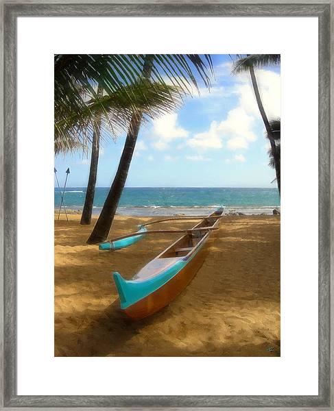 Opakapaka Framed Print