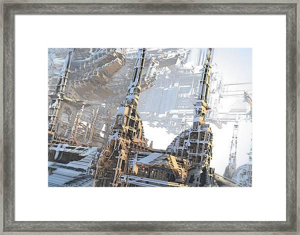 Open Air Construction Framed Print