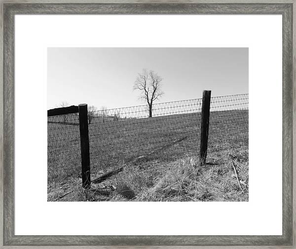 Open Land Framed Print