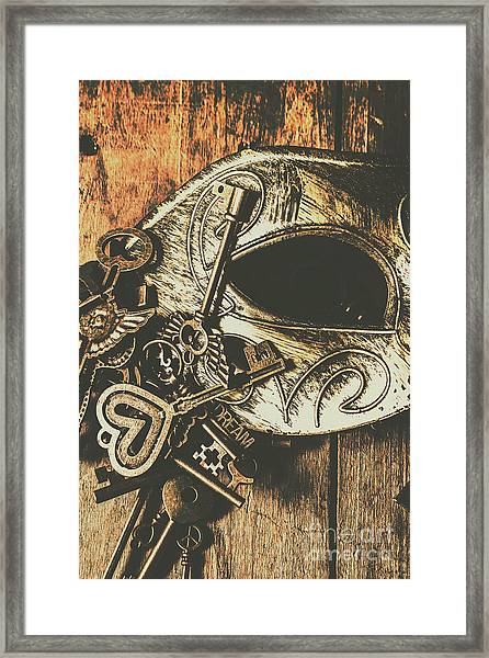 Opening Stage Show Framed Print