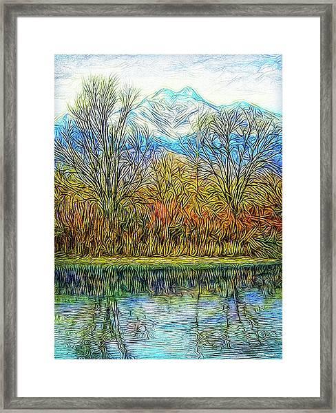 Opening To Stillness Framed Print