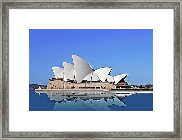 Opera House Framed Print