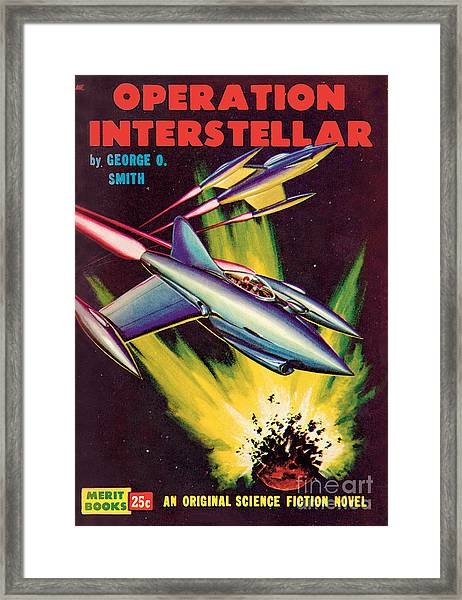 Operation Interstellar Framed Print