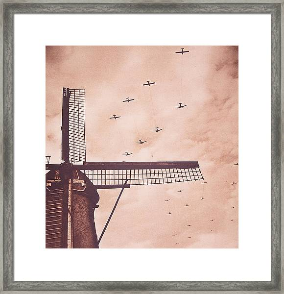 Operation Market Garden   Battle Of Arnhem Framed Print