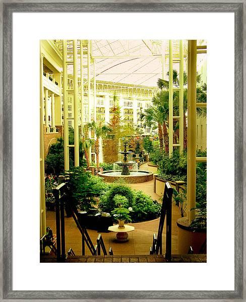 Opryland Hotel Framed Print