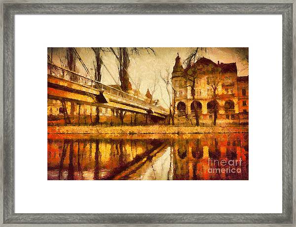 Oradea Chris River Framed Print