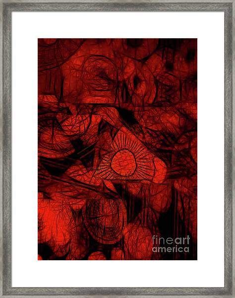 Orange Slices Framed Print