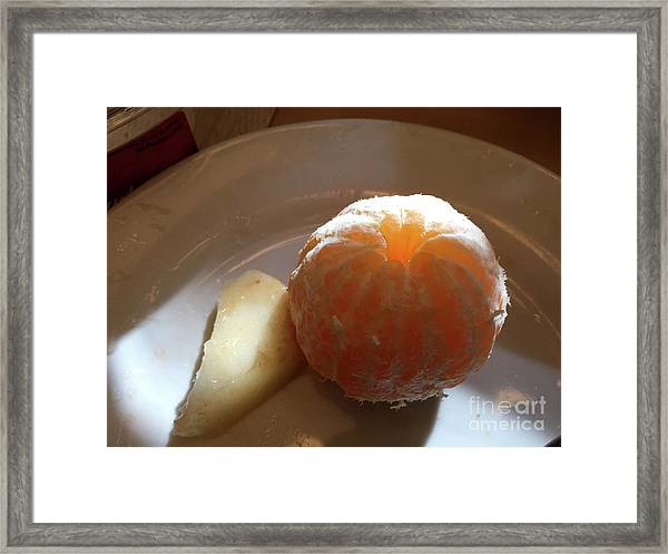 Orangepear Framed Print